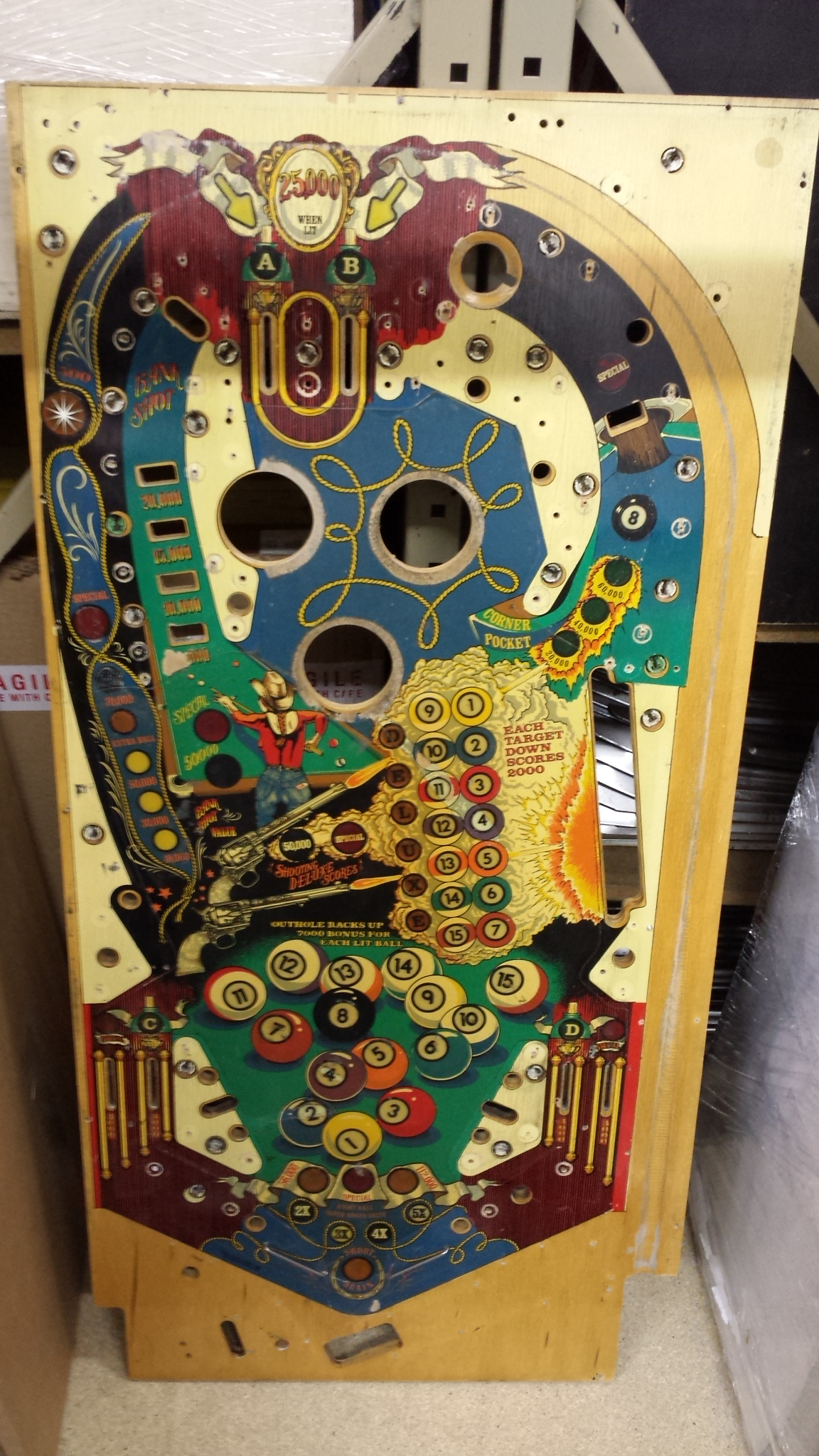 SS Billiards - Machines and Parts For Sale